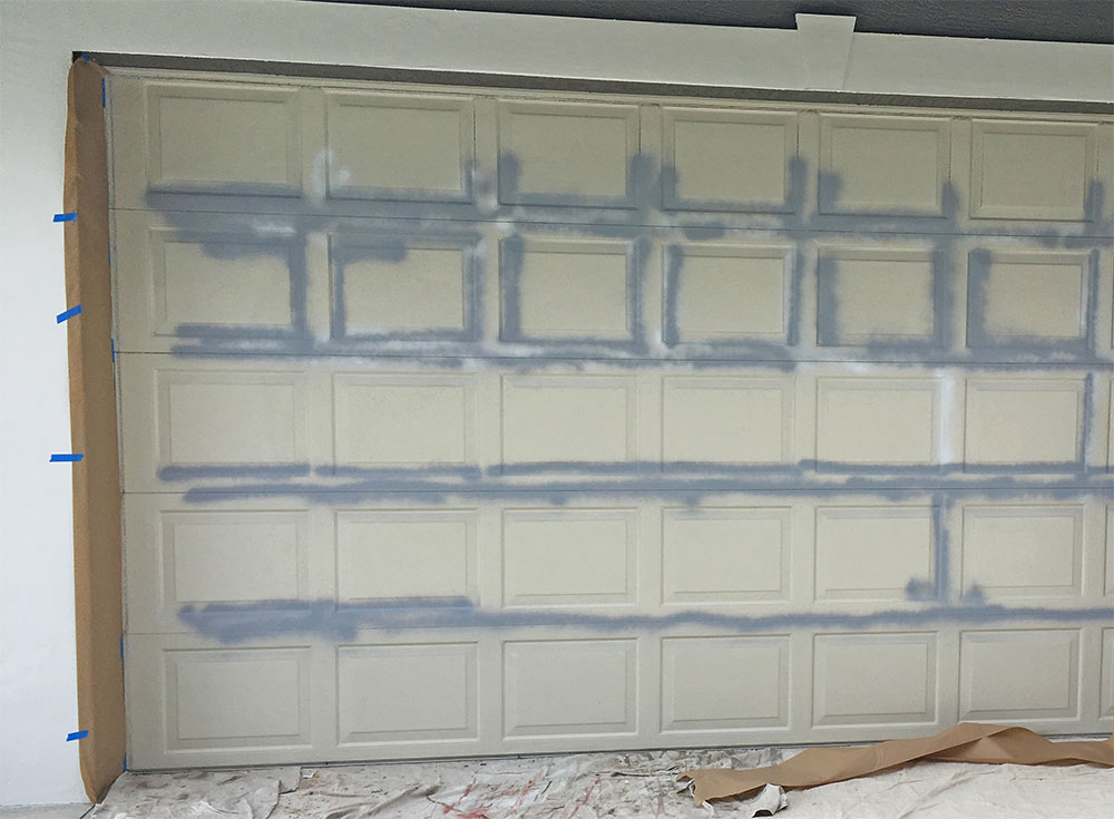 HOW TO FIX A RUSTY GARAGE DOOR