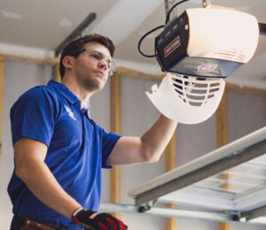 What is included in the Garage door tune-up service?