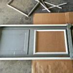 How to replace a broken garage door glass window