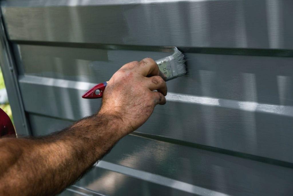 repainting your garage door